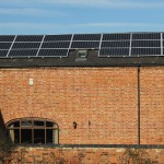...and after the solar PV array was installed